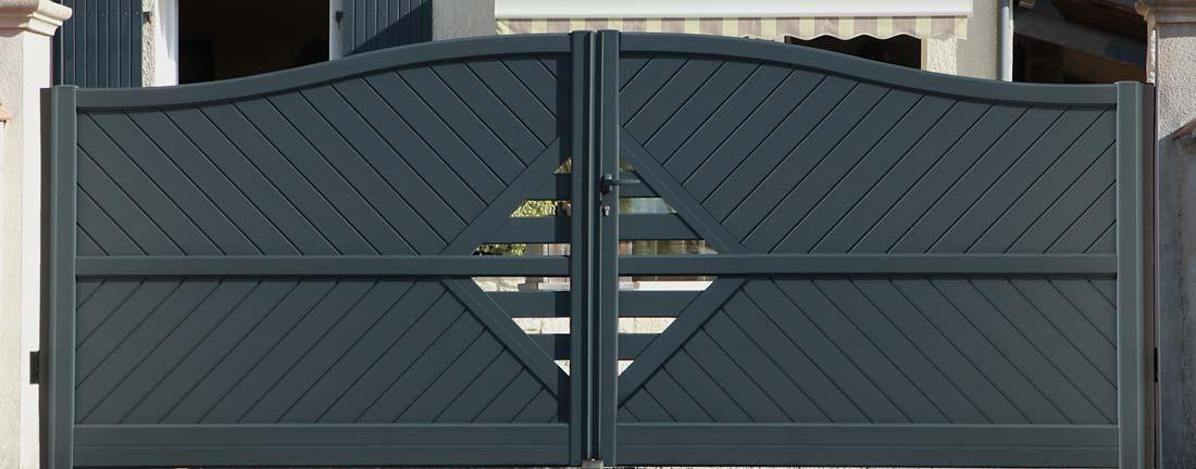 Installation de portail alu – Grenoble 38