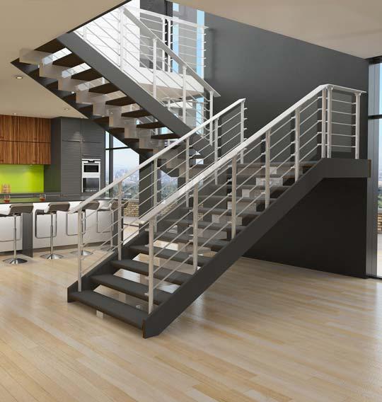 Escaliers sur mesure sur Grenoble 38